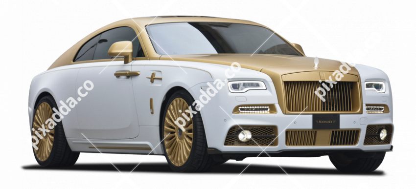 white rolls royce car