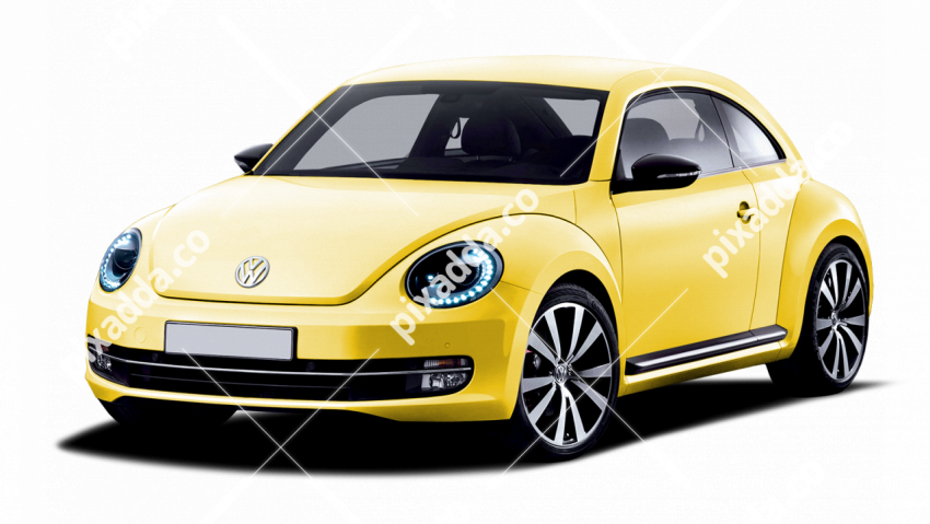 yellow volkswagen