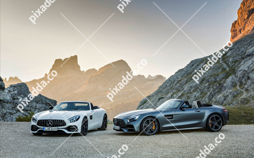 mercedes amg gt roadster and mercedes amg gt c roadster