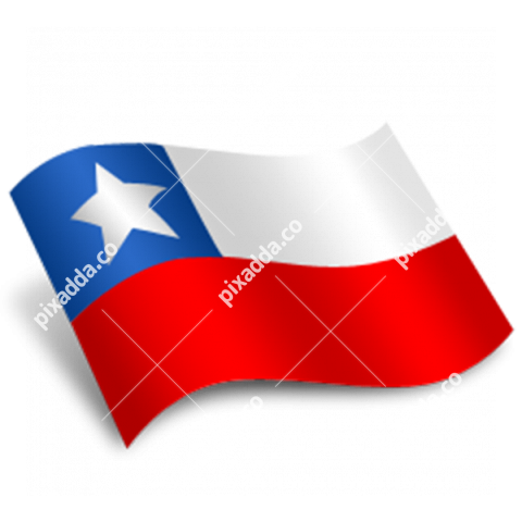 Chile Flag Free PNG Image