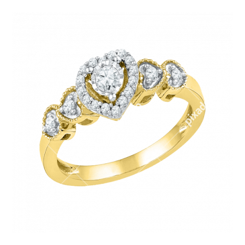 Heart Ring PNG Picture