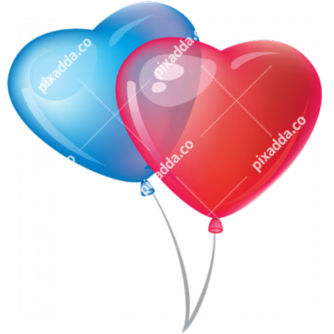 Heart Balloon PNG Transparent