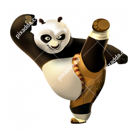 Kung Fu Panda PNG Transparent Background