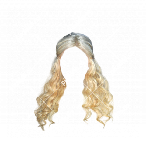 Girl Blonde Hair PNG