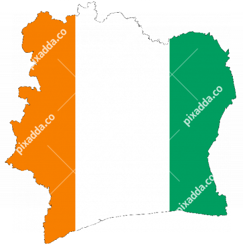 Ivory Coast Flag Download PNG
