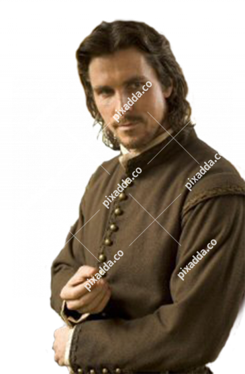 christian bale transparent background