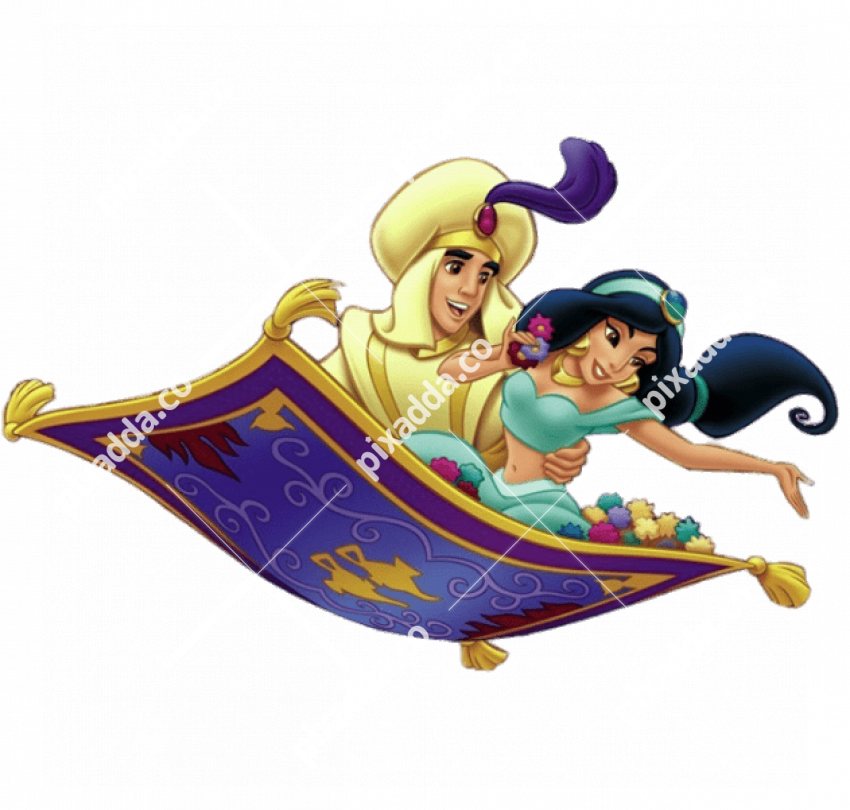 Vector Aladdin Magic Carpet Transparent PNG