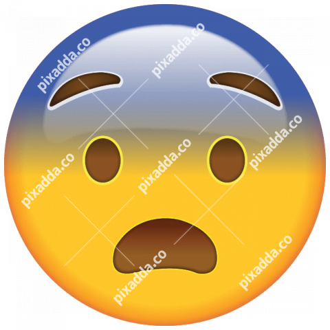 Emoticon Fearful