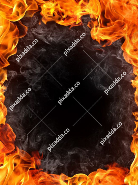 Fire Border New Picsart Photo Editing Background