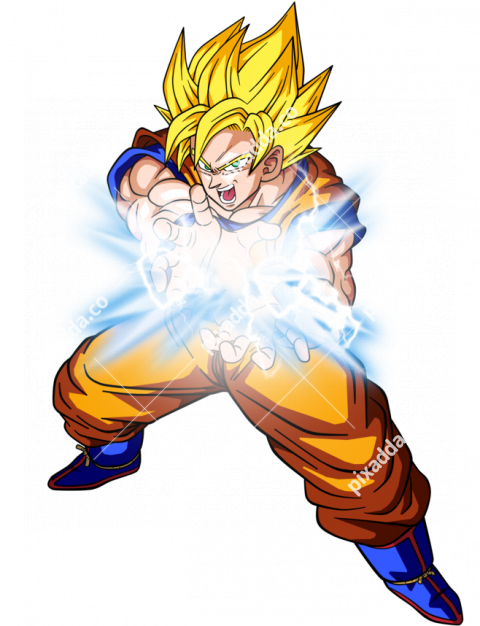 Kamehameha Dragon Ball Transparent PNG