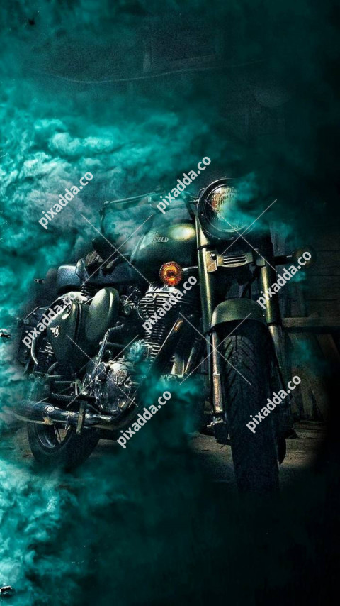 Bike Smoke CB Picsart Photo Editing Background