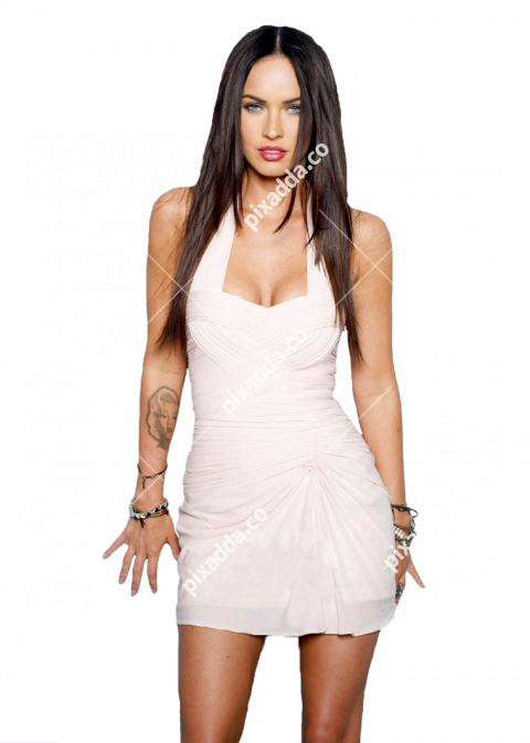 megan fox transparent picture