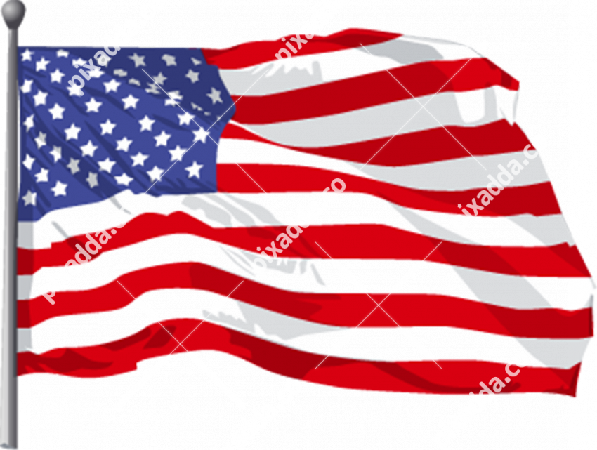 America Flag Free PNG Image