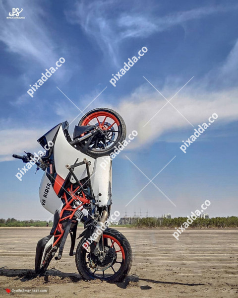 stand bike cb editing background