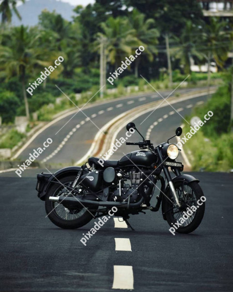 Royal Enfield CB Picsart Photo Editing Background