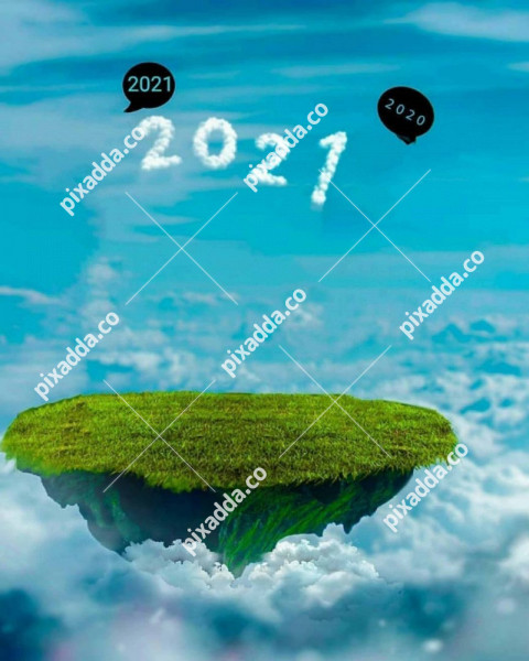 Flying Land CB Picsart Photo Editing Background