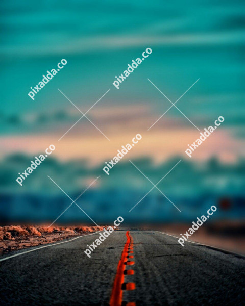 Highway road background for CB Editing