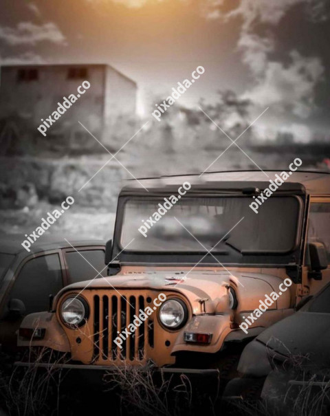 Jeep New Picsart Photo Editing Background