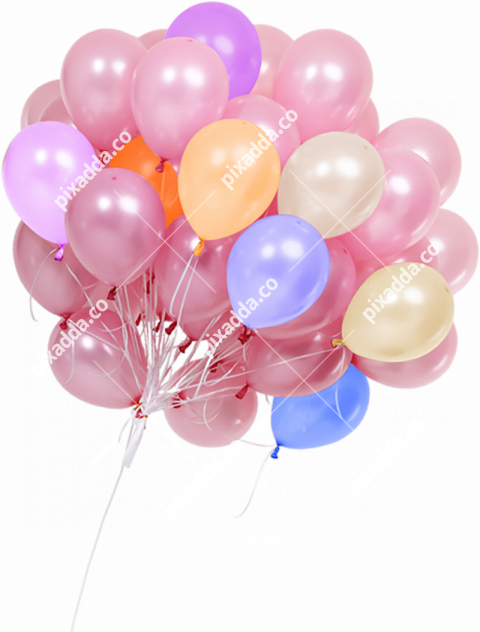 hd balloons png transparent image
