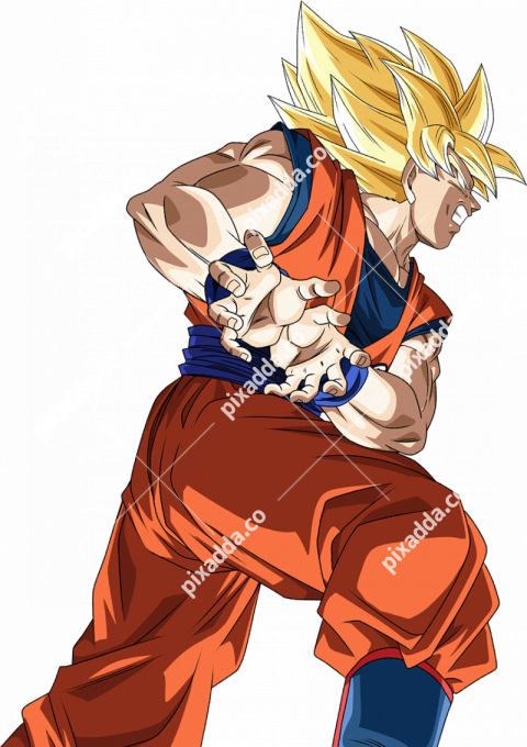 Kamehameha Dragon Ball PNG Transparent Picture