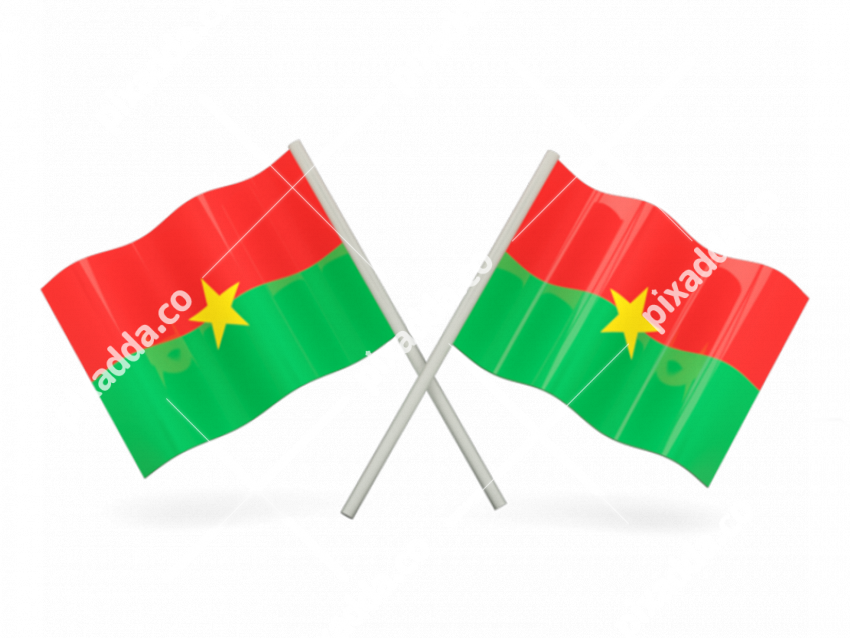 Burkina Faso Flag Free Download PNG