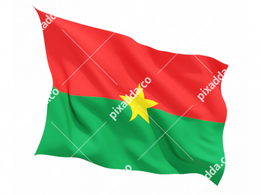 Burkina Faso Flag Transparent