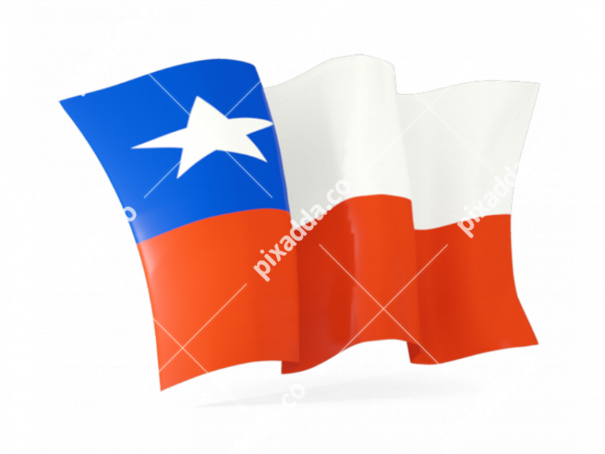Chile Flag PNG Pic