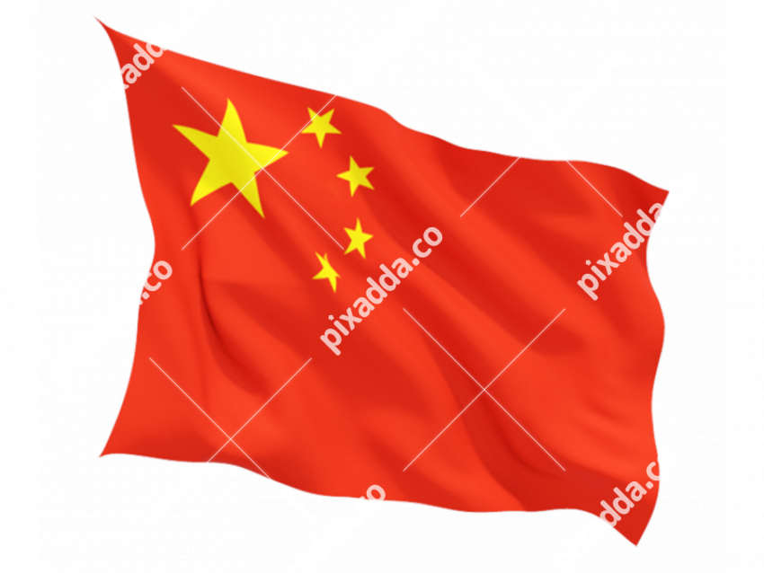 China Flag PNG Image