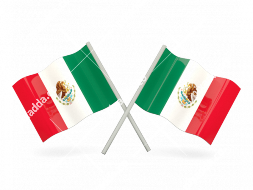 Mexico Flag Free Download PNG