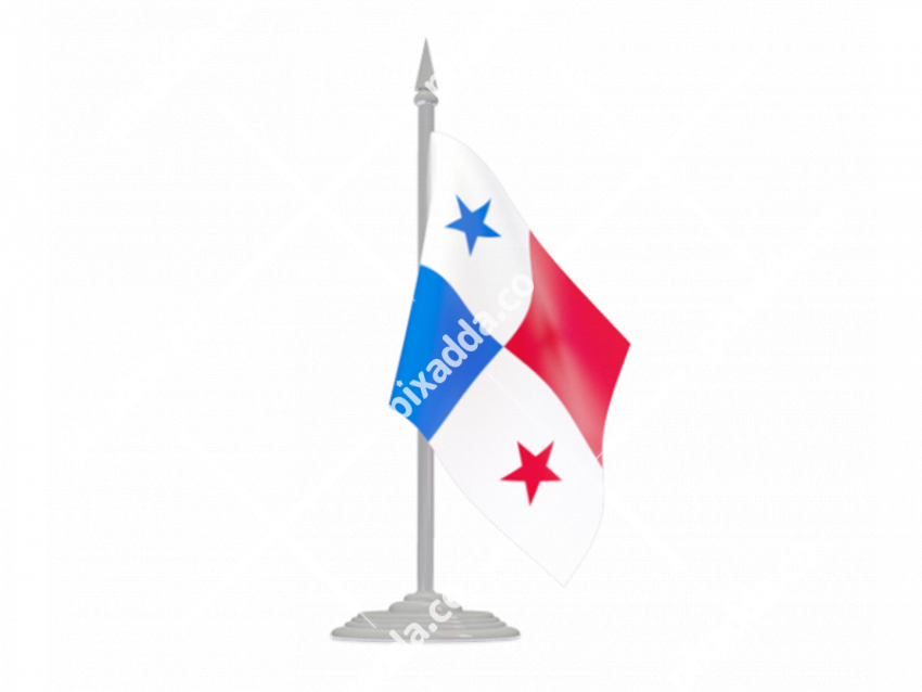 Panama Flag PNG File