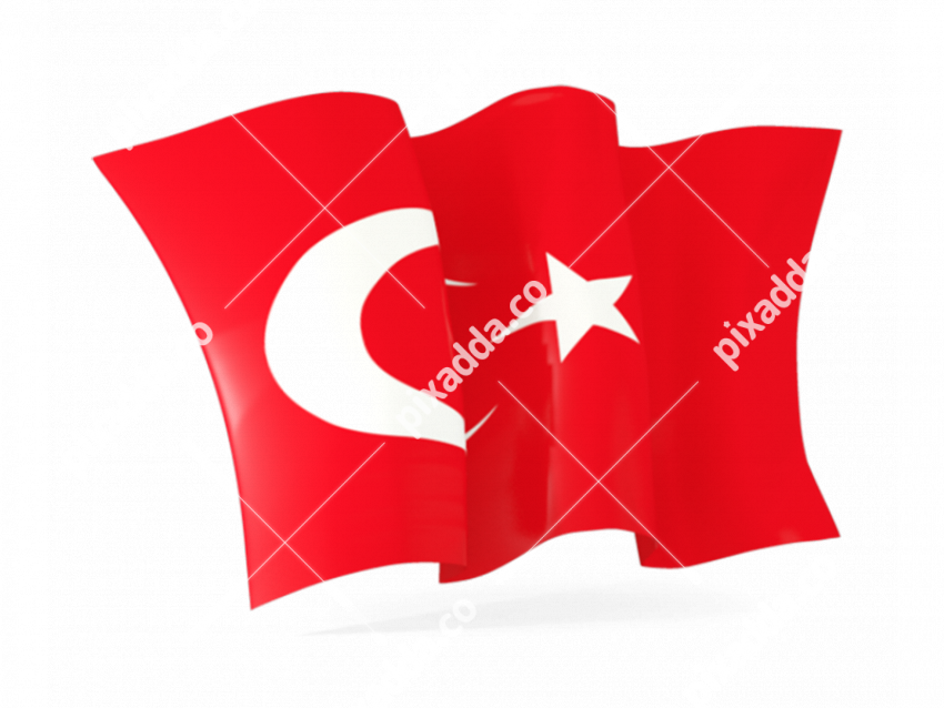 Turkey Flag PNG Image