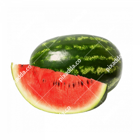 half and full watermelon
