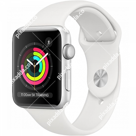 white apple watch  png transparent image