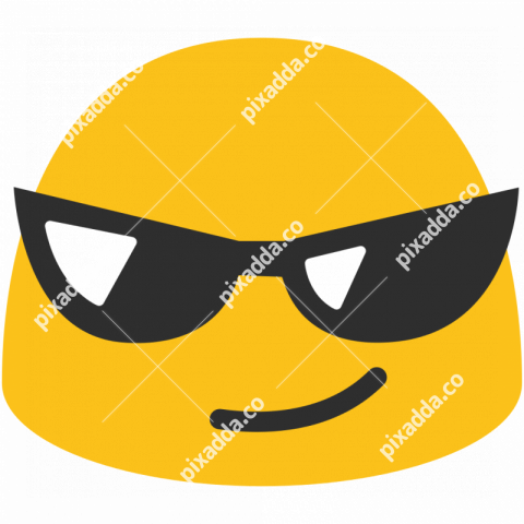 Sunglasses Emoji transparent PNG