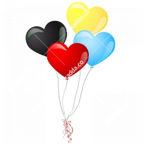 Heart Balloon PNG Photo