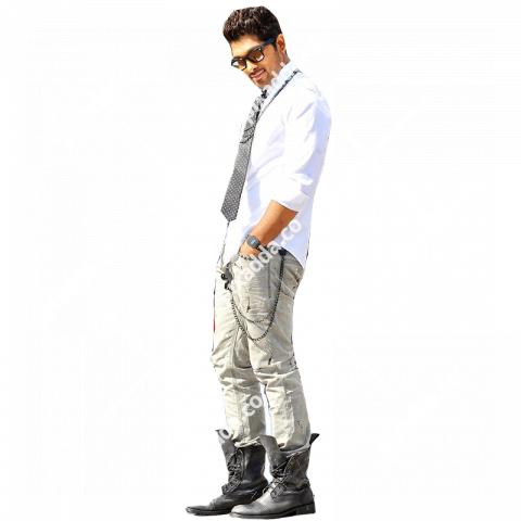 allu arjun transparent picture