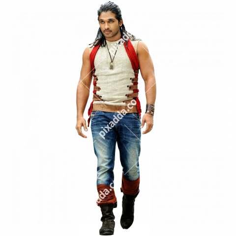allu arjun transparent background