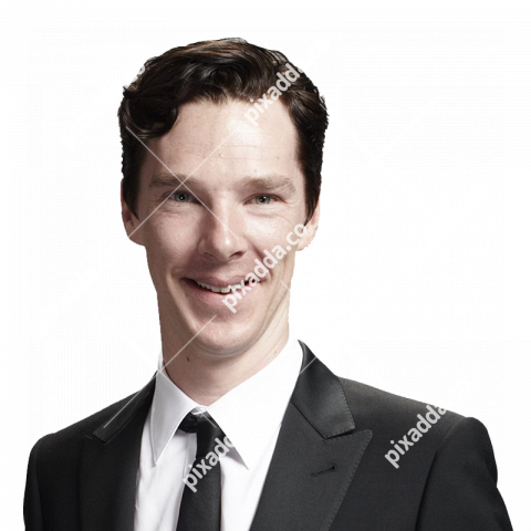 Benedict Cumberbatch transparent background