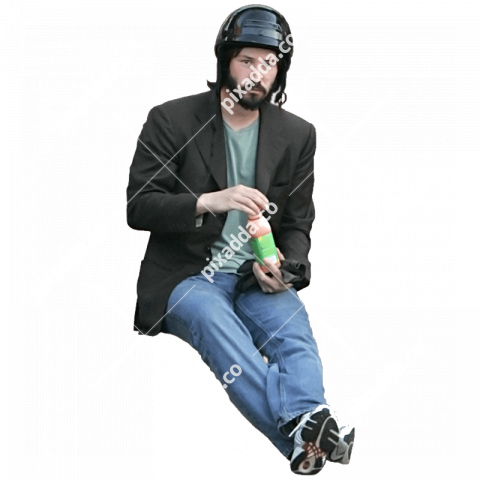 keanu reeves  transparent background