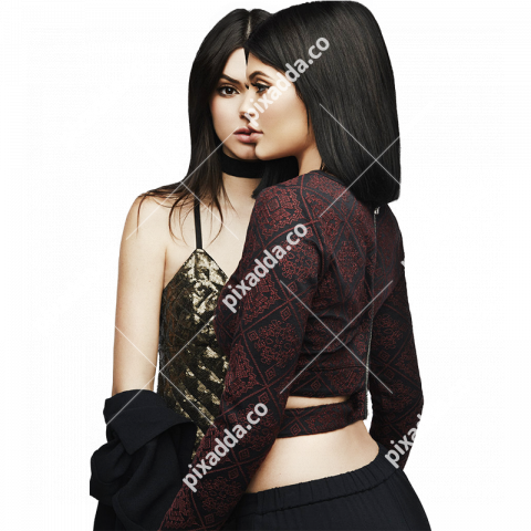 kylie jenner transparent picture