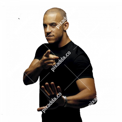 vin diesel transparent background