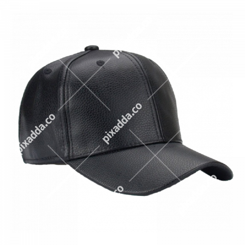 black leather cap png