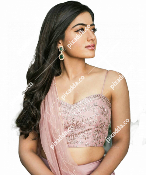 rashmika mandanna transparent hd