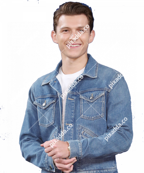 tom holland transparent background