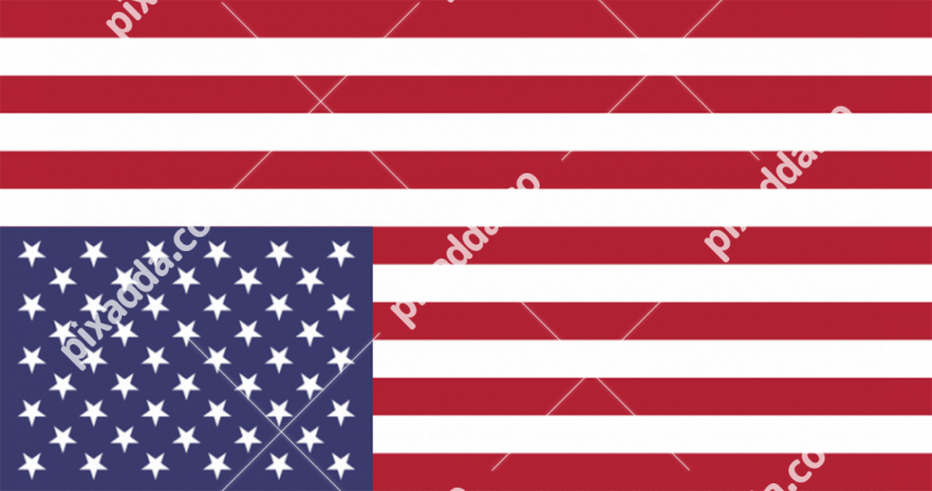 America Flag PNG Clipart