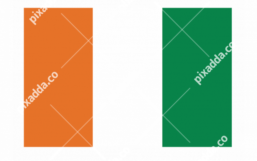 Ivory Coast Flag PNG File
