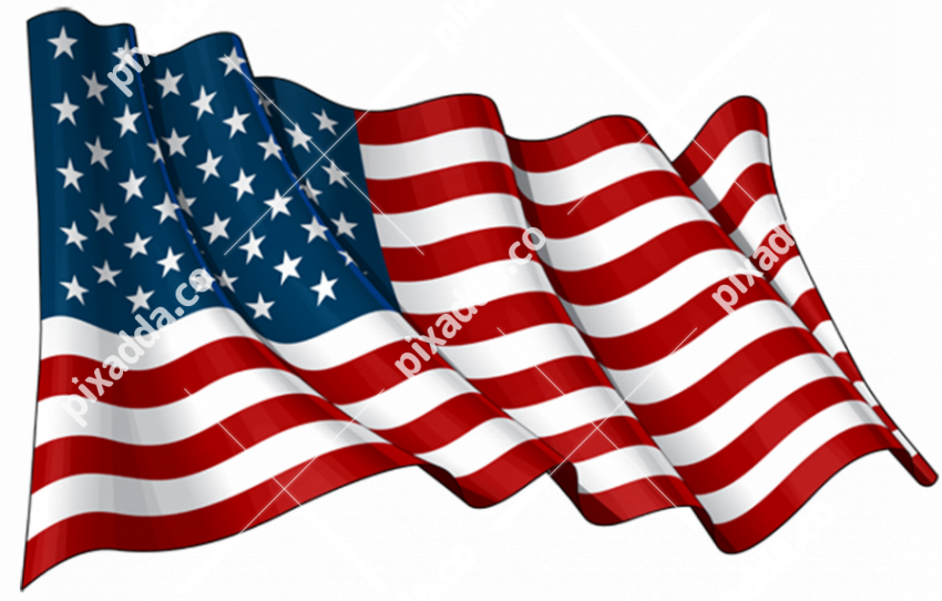America Flag PNG File