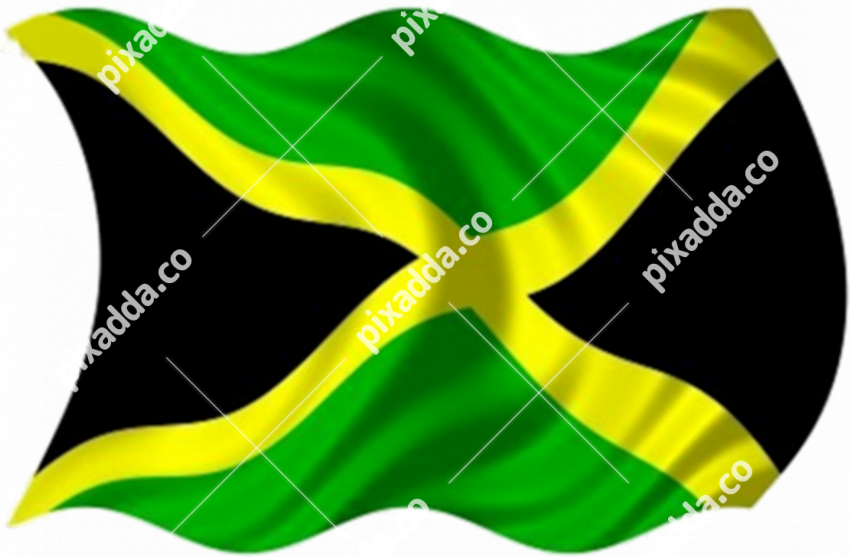 Jamaica Flag PNG Image