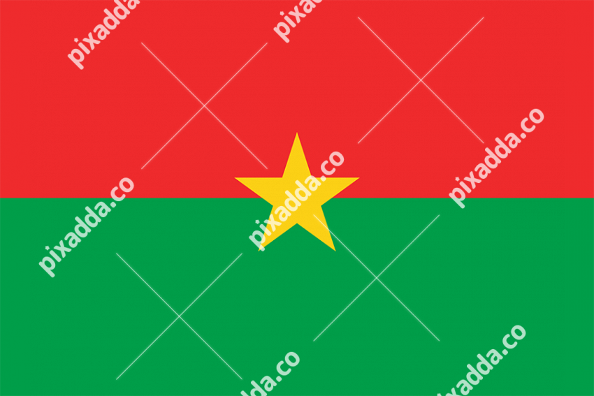 Burkina Faso Flag PNG