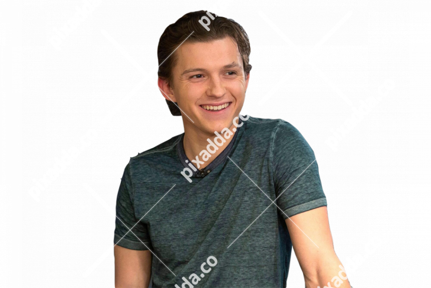 tom holland png transparent